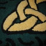 Close up 3-D Celtic Knot